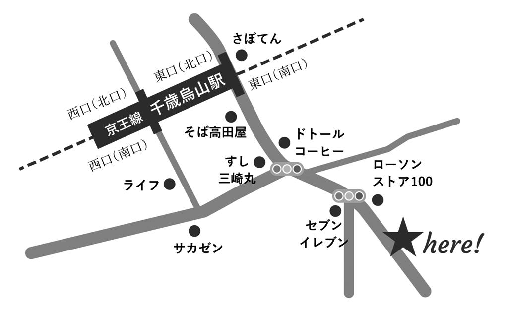 モノクロ地図
